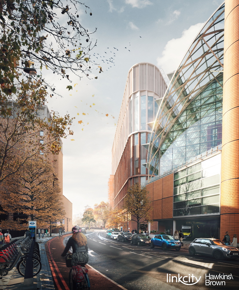 How the new building will appear from Westminster Bridge